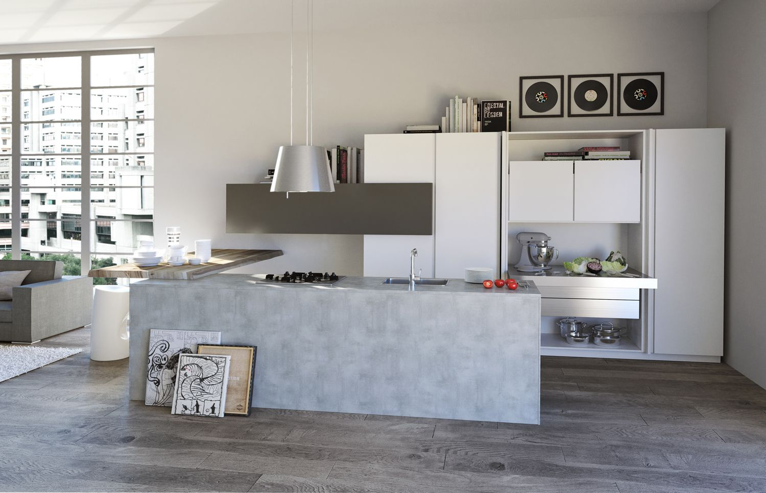 Outlet Cucine Con Isola. Latest Cucine Moderne Con Isola Outlet ...